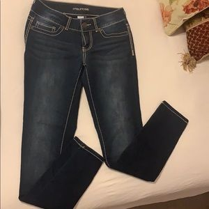 Maurices Jeggings in dark wash